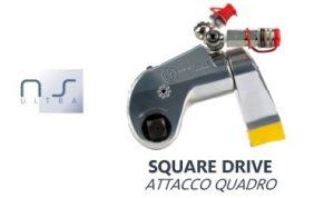 Chiave Idraulica Dinamometrica con Attacco Quadro